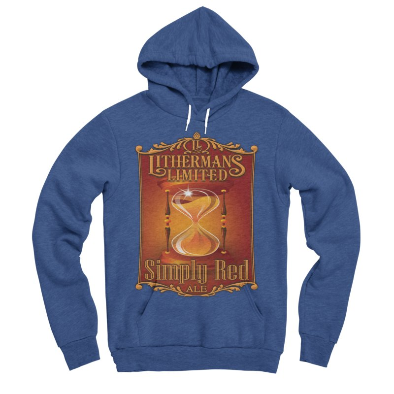 Simply Red Women's Sponge Fleece Pullover Hoody by Lithermans Limited Print Shop