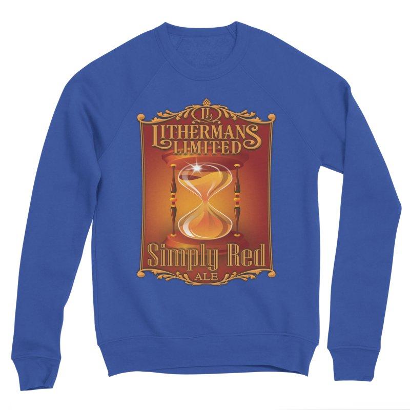 Simply Red Women's Sponge Fleece Sweatshirt by Lithermans Limited Print Shop