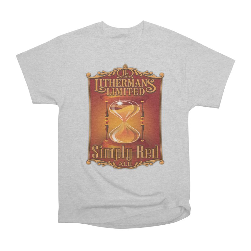 Simply Red Women's Heavyweight Unisex T-Shirt by Lithermans Limited Print Shop
