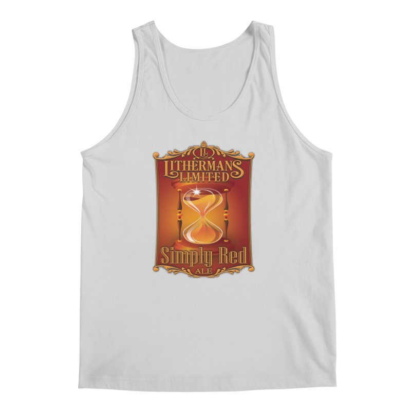 Simply Red Men's Regular Tank by Lithermans Limited Print Shop