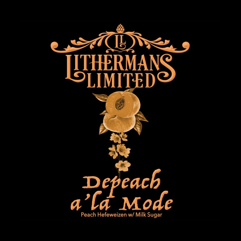 Depeach a la Mode Men's T-Shirt by Lithermans Limited Print Shop
