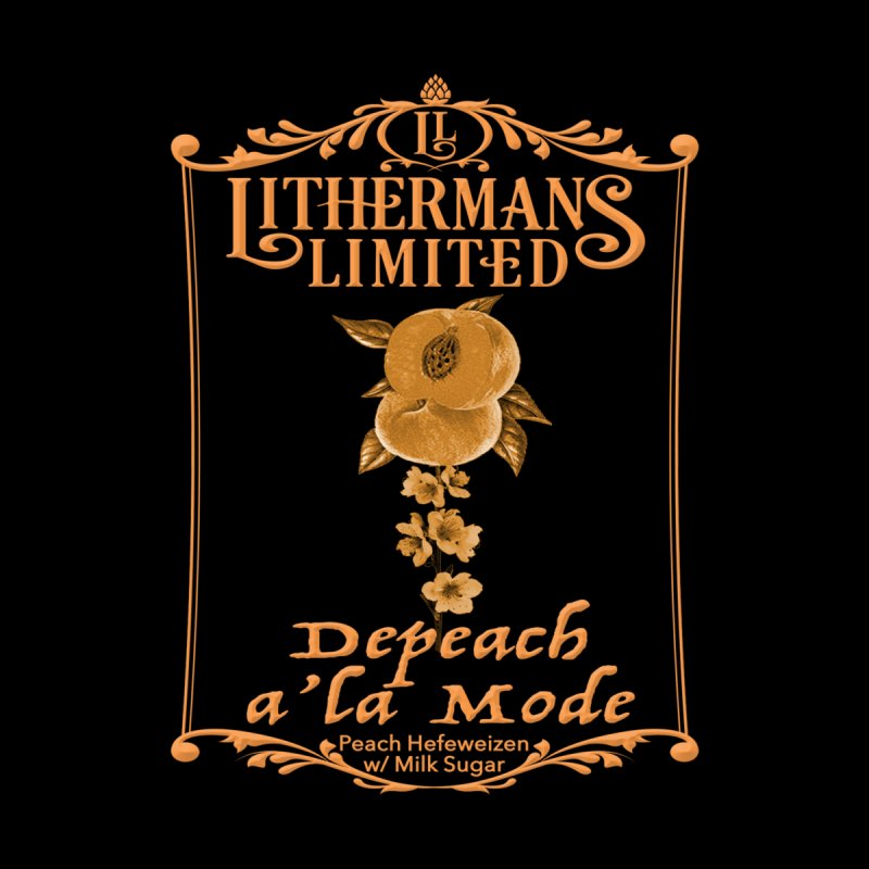 Depeach a la Mode by Lithermans Limited Print Shop