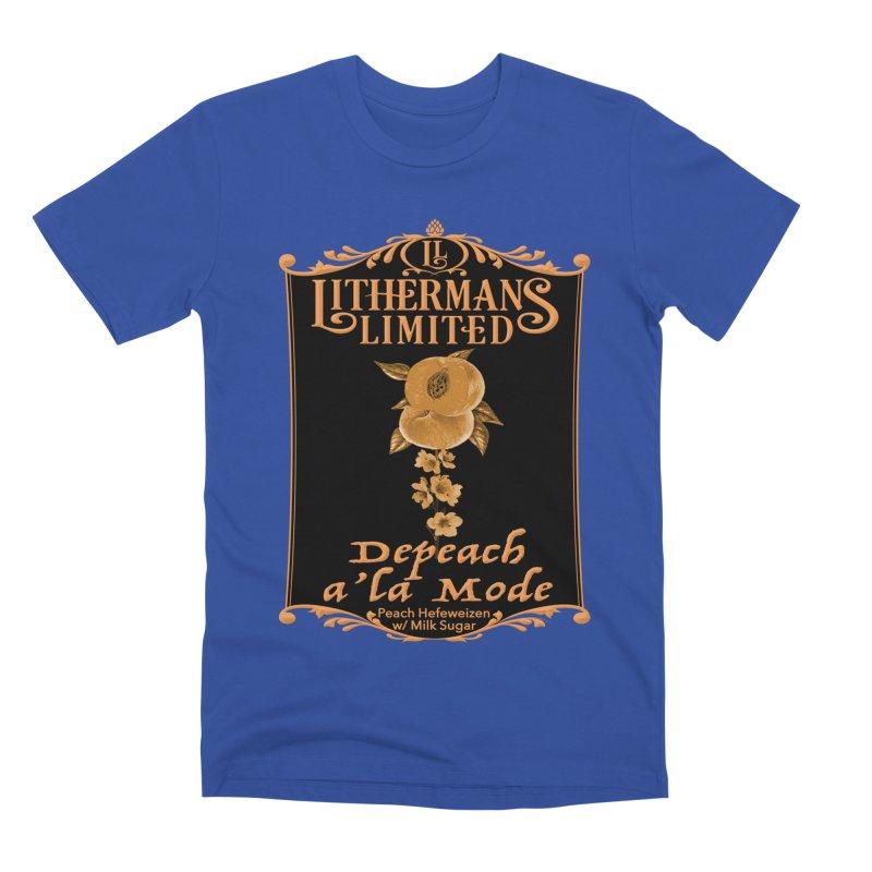 Depeach a la Mode Men's Premium T-Shirt by Lithermans Limited Print Shop