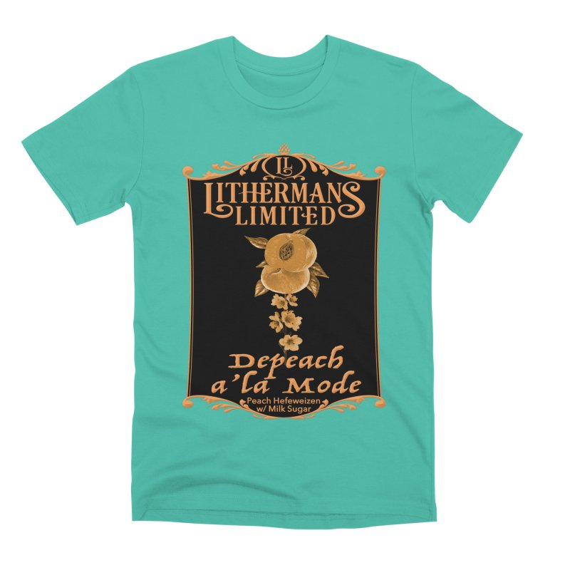 Depeach a la Mode Men's Premium T-Shirt by Lithermans Limited Print Shop
