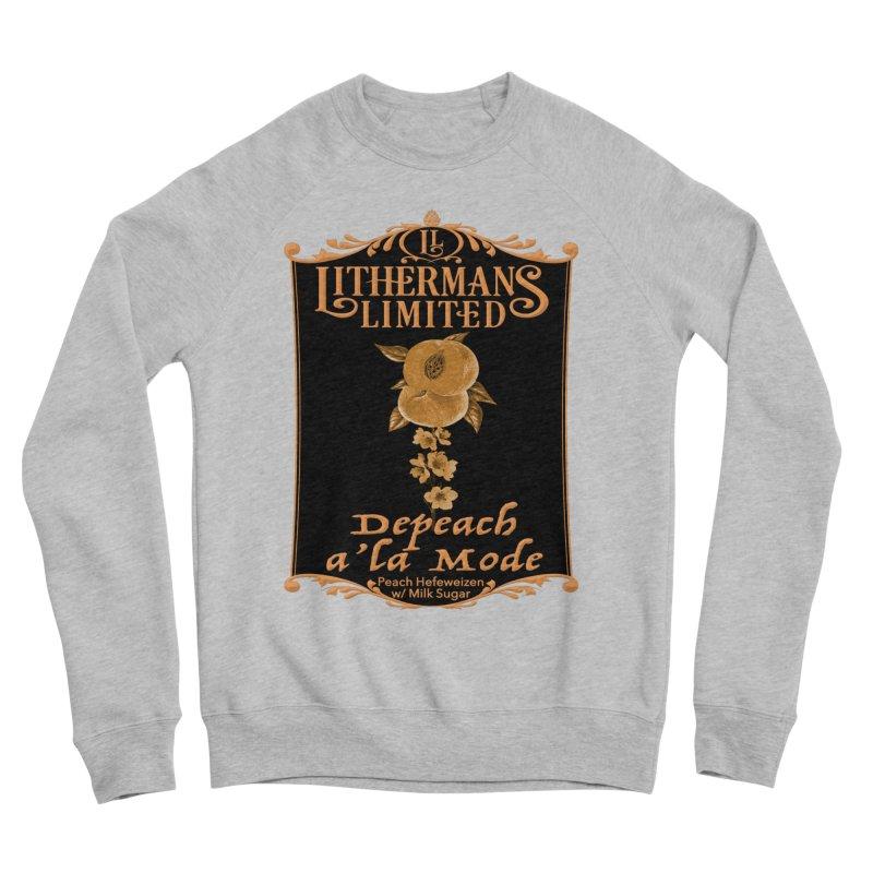 Depeach a la Mode Women's Sponge Fleece Sweatshirt by Lithermans Limited Print Shop
