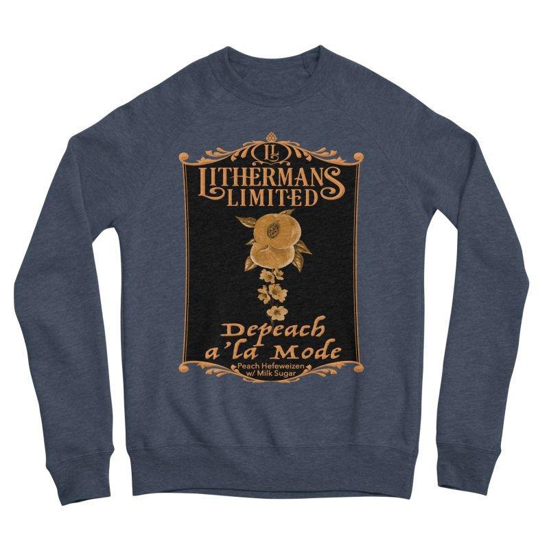 Depeach a la Mode Men's Sponge Fleece Sweatshirt by Lithermans Limited Print Shop