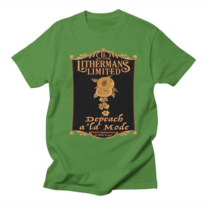 Depeach a la Mode Women's Regular Unisex T-Shirt by Lithermans Limited Print Shop