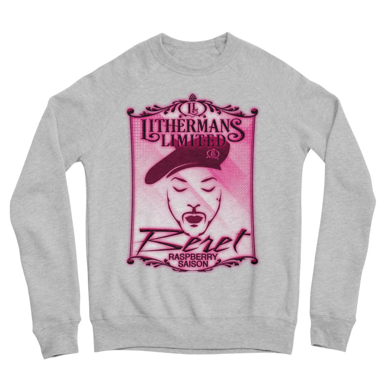Beret Women's Sponge Fleece Sweatshirt by Lithermans Limited Print Shop