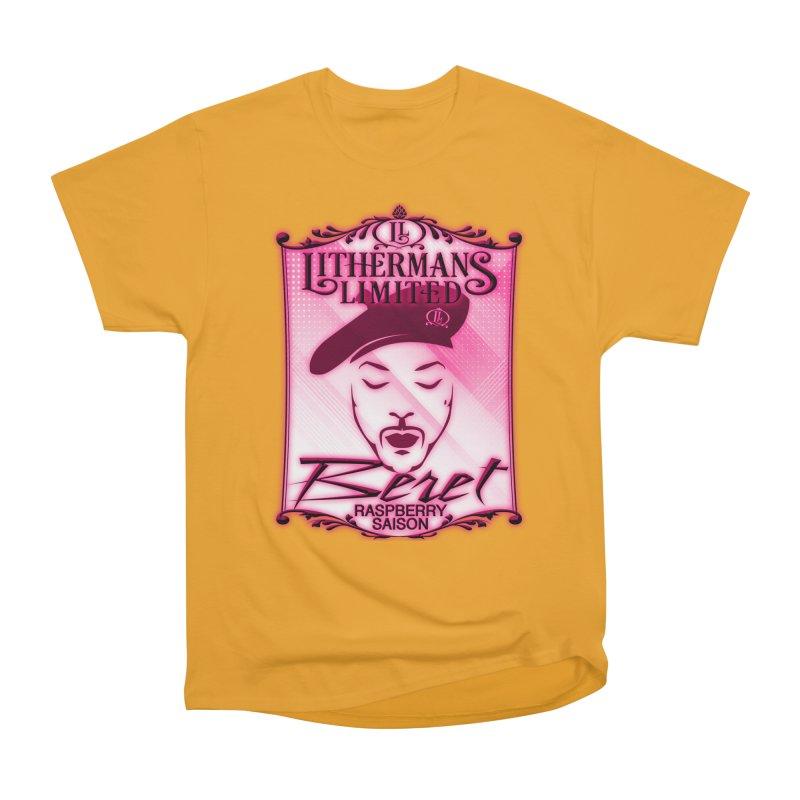 Beret Women's Heavyweight Unisex T-Shirt by Lithermans Limited Print Shop