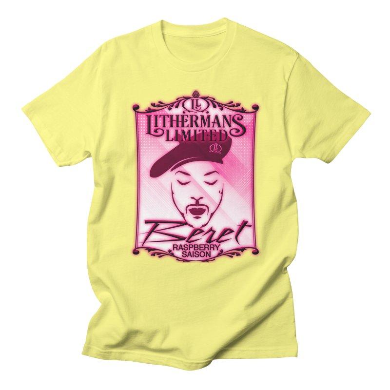 Beret Men's Regular T-Shirt by Lithermans Limited Print Shop