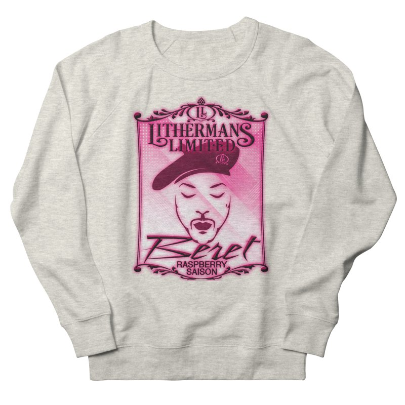 Beret Women's French Terry Sweatshirt by Lithermans Limited Print Shop