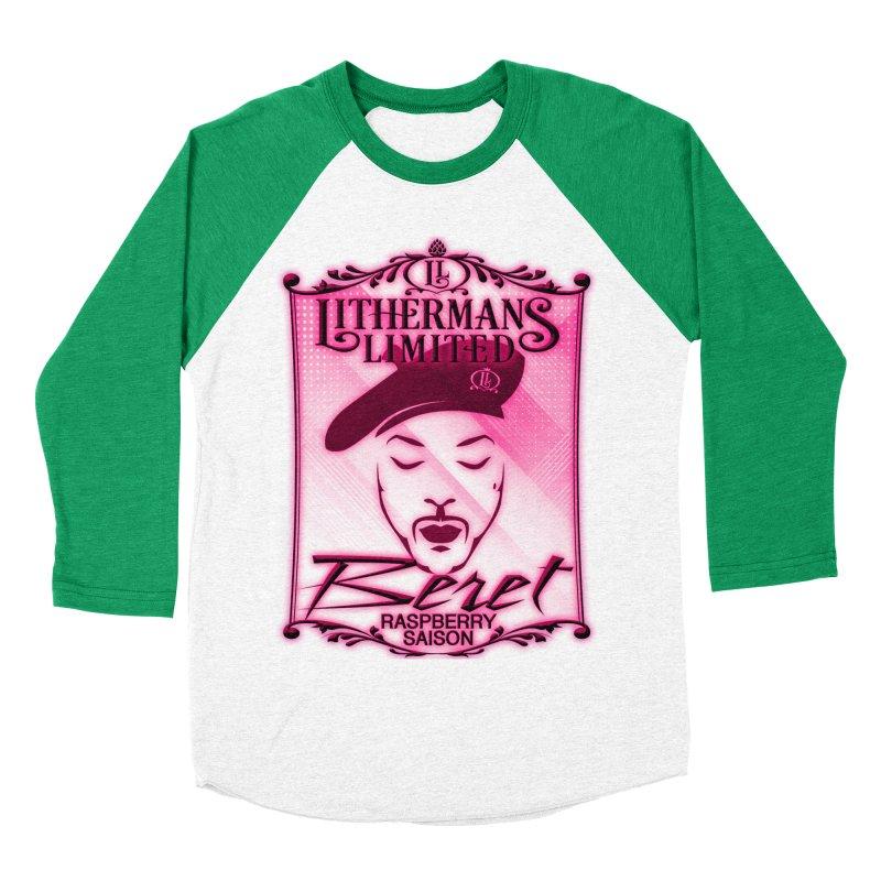 Beret Women's Baseball Triblend Longsleeve T-Shirt by Lithermans Limited Print Shop