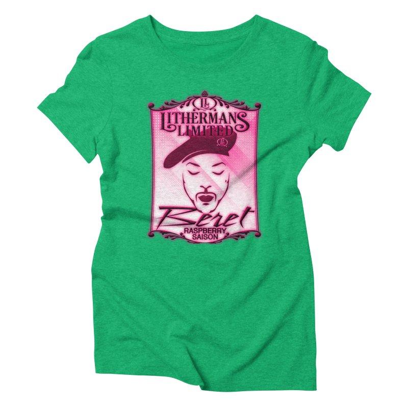 Beret Women's Triblend T-Shirt by Lithermans Limited Print Shop