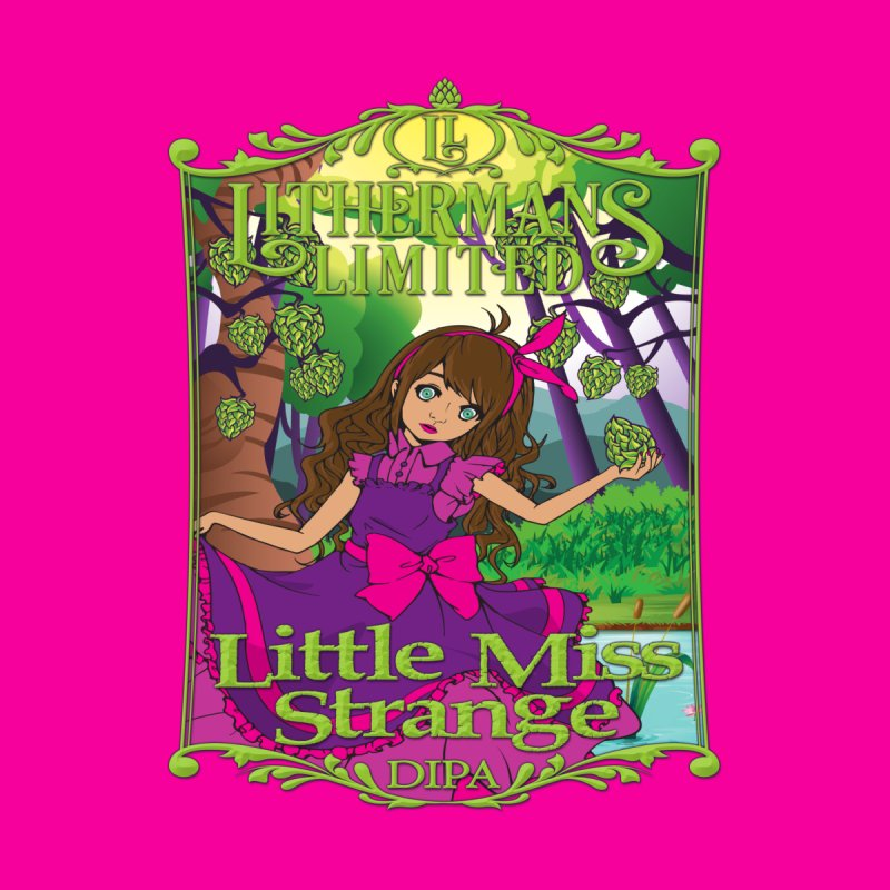 Little Miss Strange by Lithermans Limited Print Shop