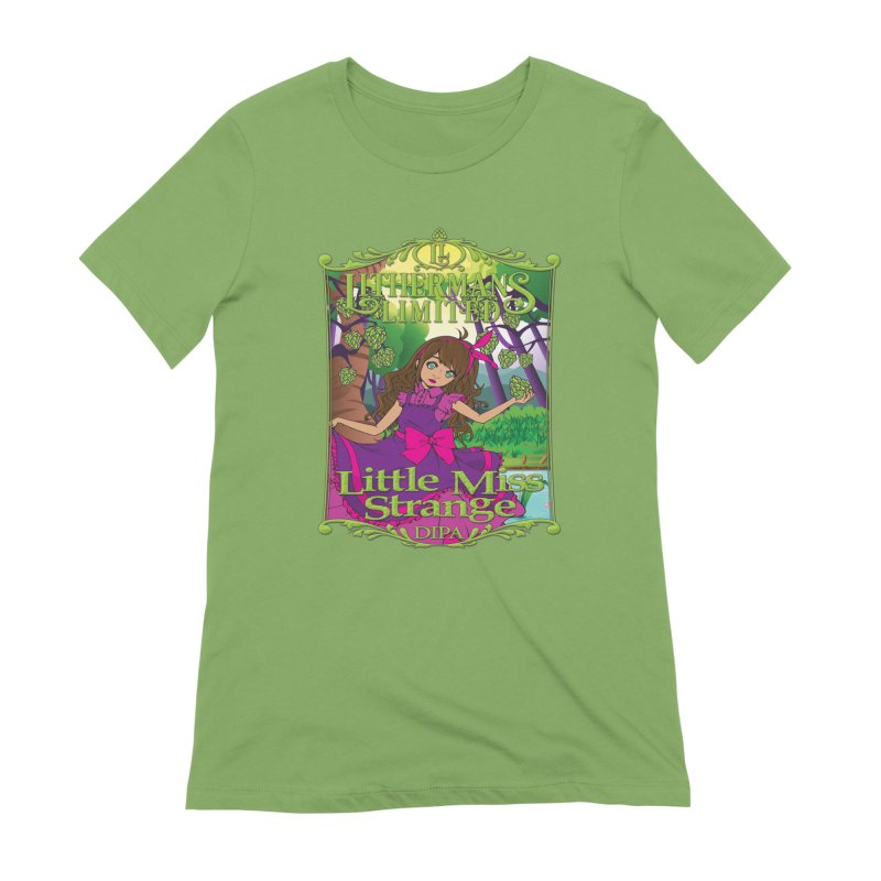 Little Miss Strange Women's Extra Soft T-Shirt by Lithermans Limited Print Shop