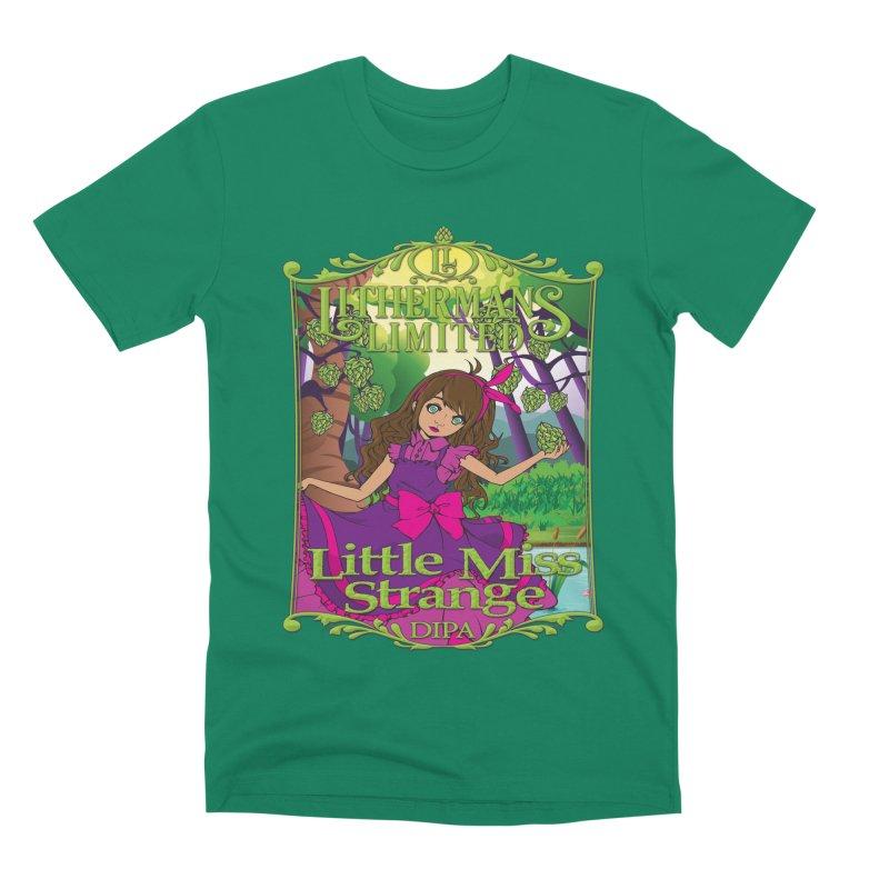 Little Miss Strange Men's Premium T-Shirt by Lithermans Limited Print Shop