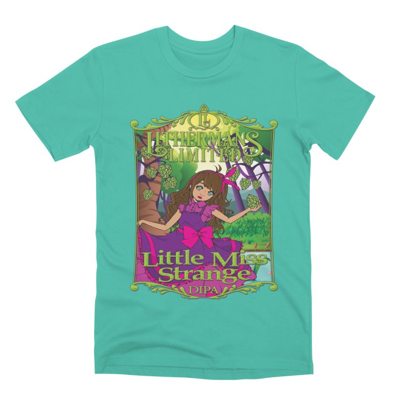 Little Miss Strange Men's Premium T-Shirt by Lithermans Limited Print Shop