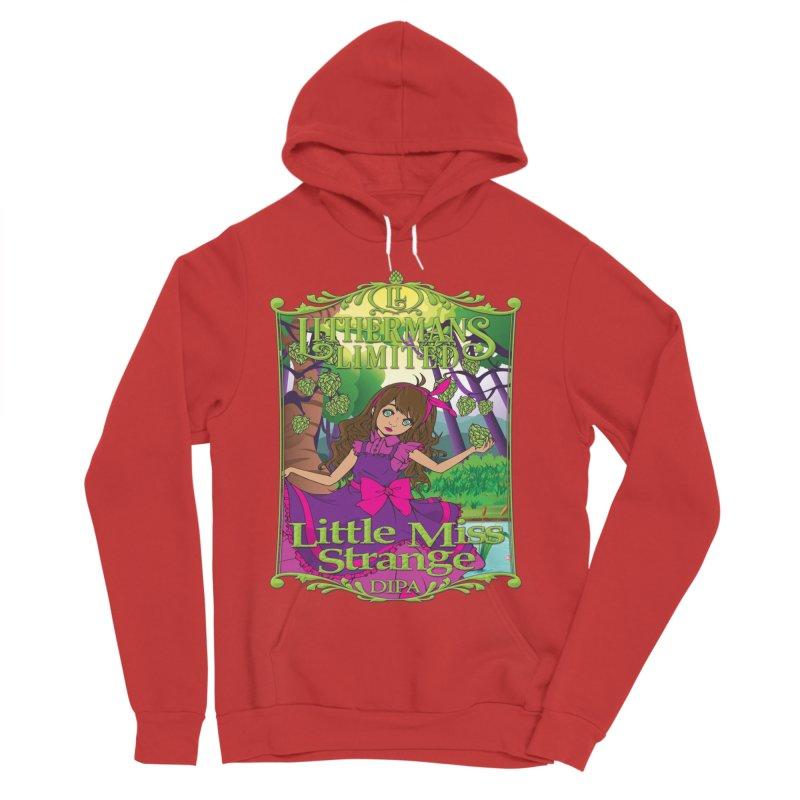 Little Miss Strange Women's Sponge Fleece Pullover Hoody by Lithermans Limited Print Shop
