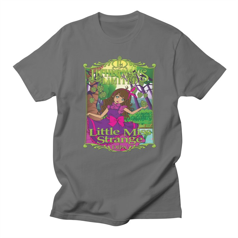 Little Miss Strange Men's T-Shirt by Lithermans Limited Print Shop