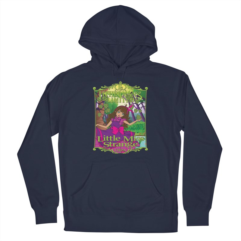 Little Miss Strange Men's Pullover Hoody by Lithermans Limited Print Shop