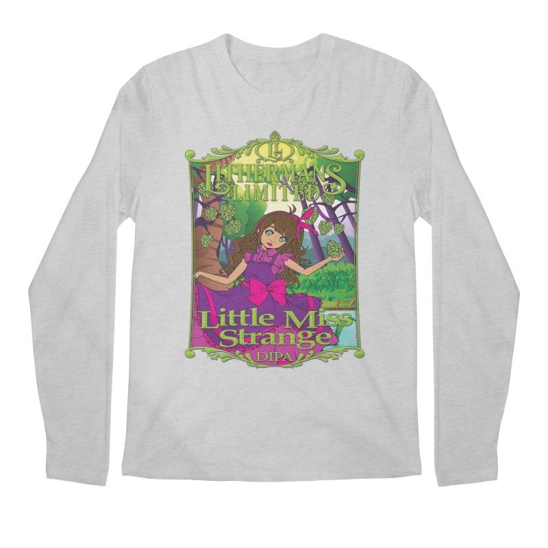 Little Miss Strange Men's Regular Longsleeve T-Shirt by Lithermans Limited Print Shop