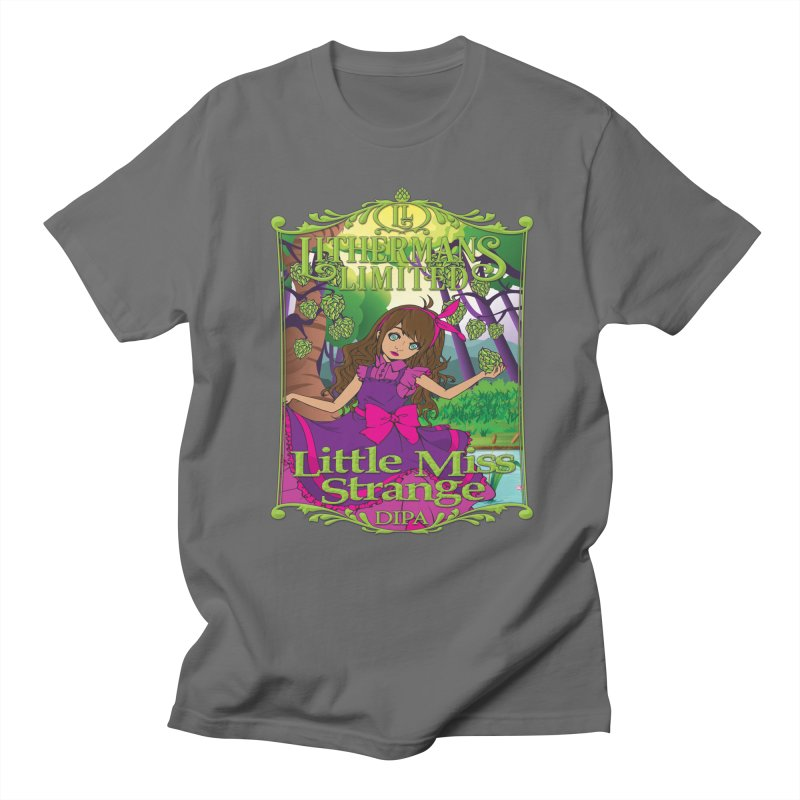 Little Miss Strange Men's T-Shirt by Lithermans Limited Print Shop