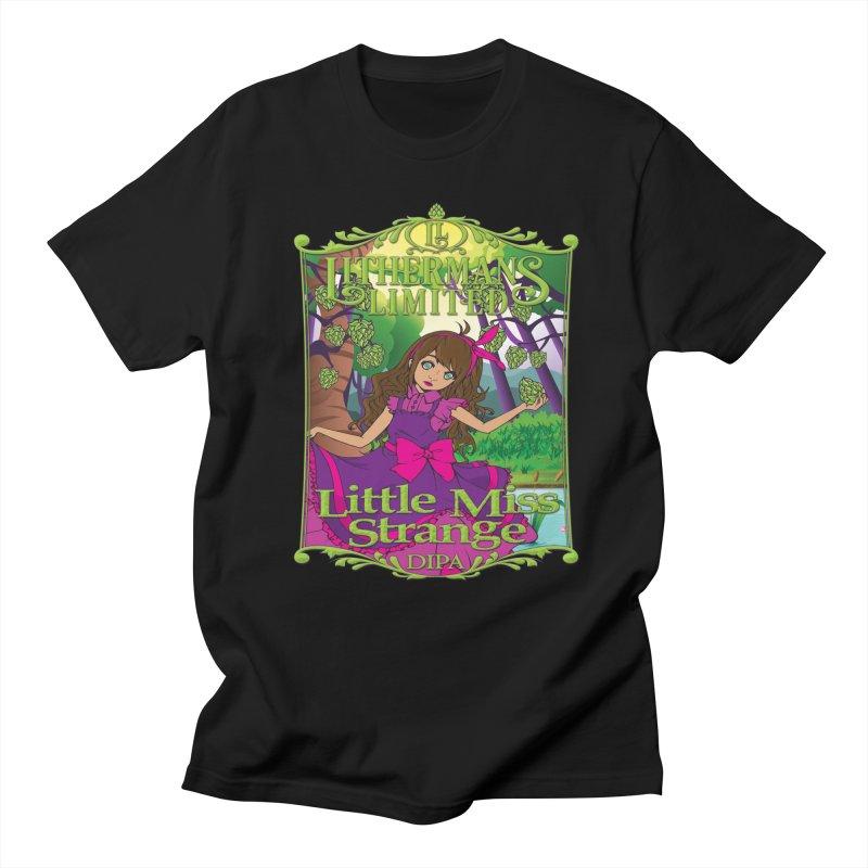 Little Miss Strange Women's Regular Unisex T-Shirt by Lithermans Limited Print Shop