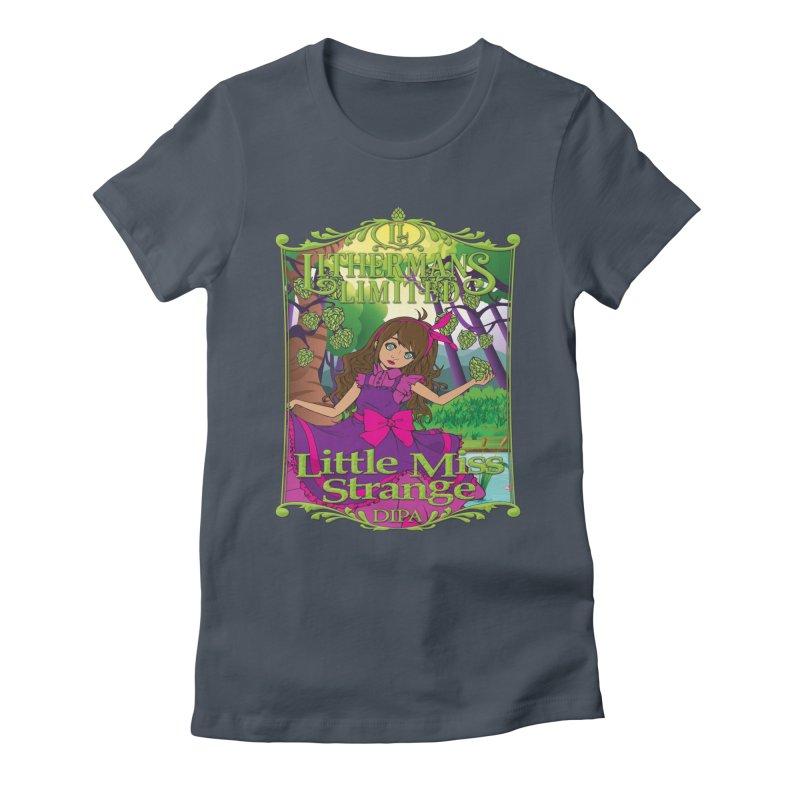 Little Miss Strange Women's T-Shirt by Lithermans Limited Print Shop