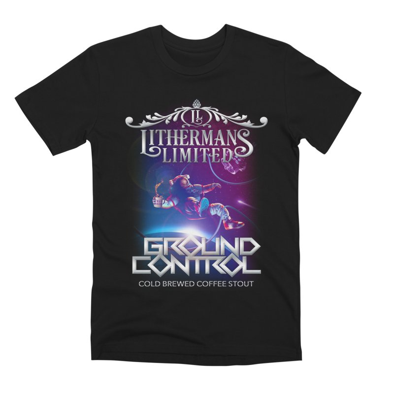 Ground Control Men's Premium T-Shirt by Lithermans Limited Print Shop
