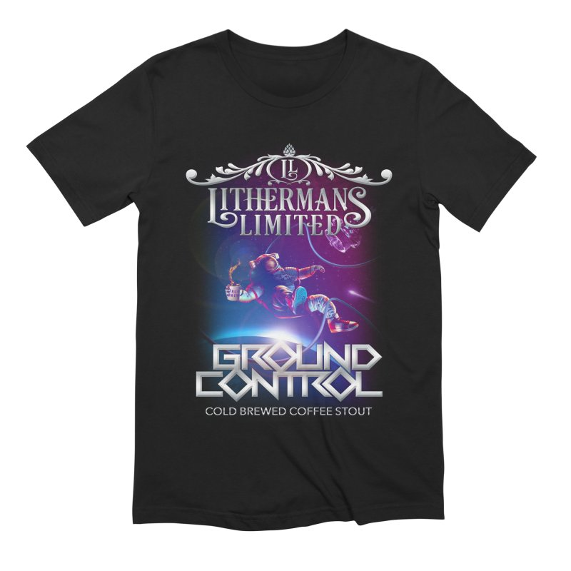 Ground Control Men's Extra Soft T-Shirt by Lithermans Limited Print Shop