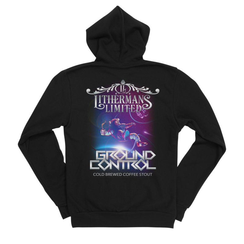 Ground Control Women's Sponge Fleece Zip-Up Hoody by Lithermans Limited Print Shop