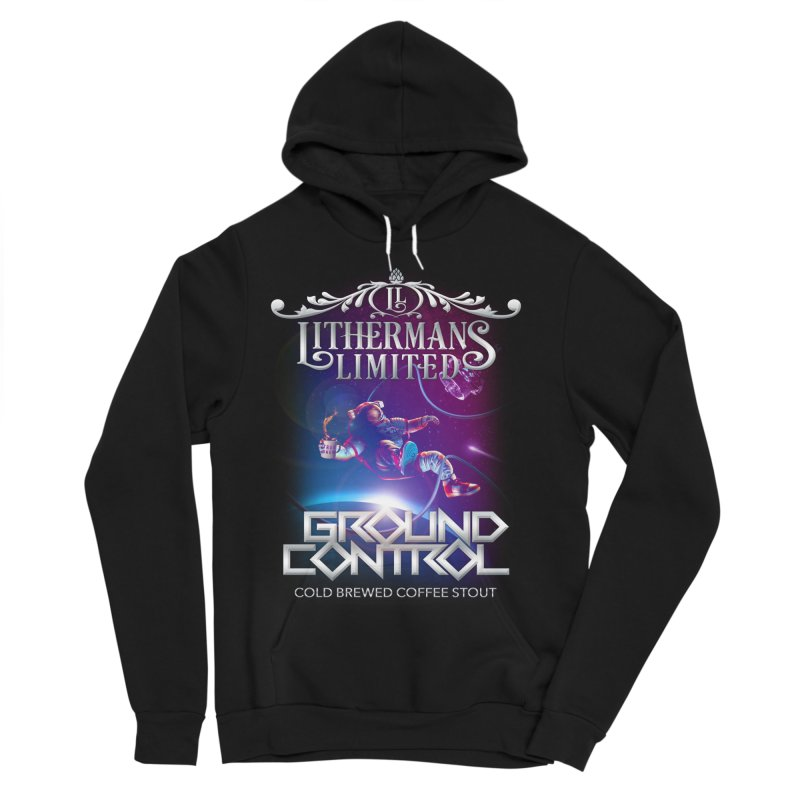 Ground Control Women's Sponge Fleece Pullover Hoody by Lithermans Limited Print Shop