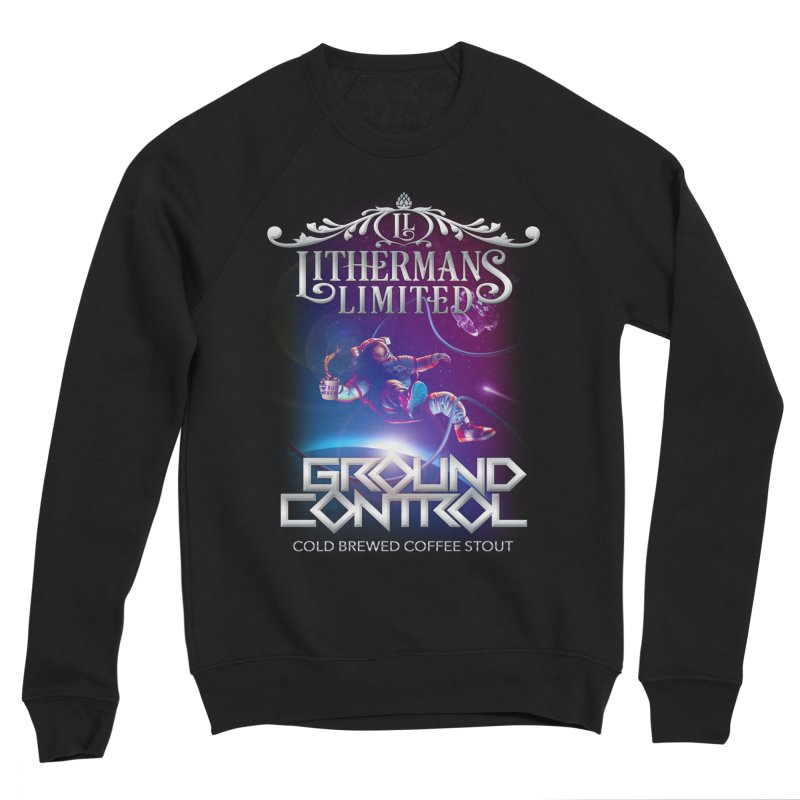 Ground Control Men's Sponge Fleece Sweatshirt by Lithermans Limited Print Shop