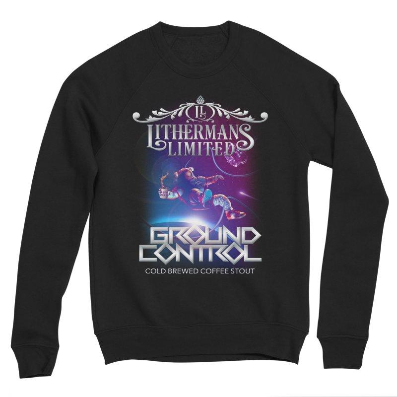 Ground Control Women's Sponge Fleece Sweatshirt by Lithermans Limited Print Shop