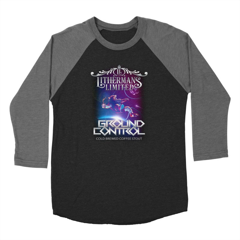 Ground Control Women's Baseball Triblend Longsleeve T-Shirt by Lithermans Limited Print Shop