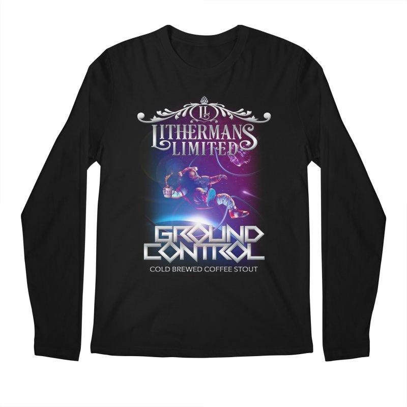 Ground Control Men's Regular Longsleeve T-Shirt by Lithermans Limited Print Shop