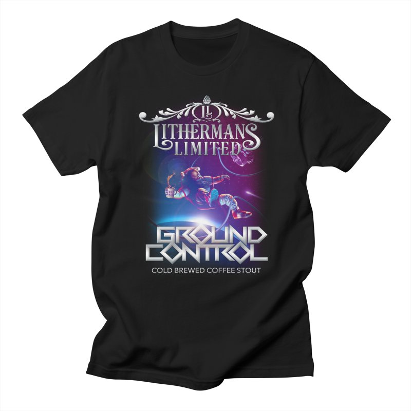 Ground Control Men's Regular T-Shirt by Lithermans Limited Print Shop