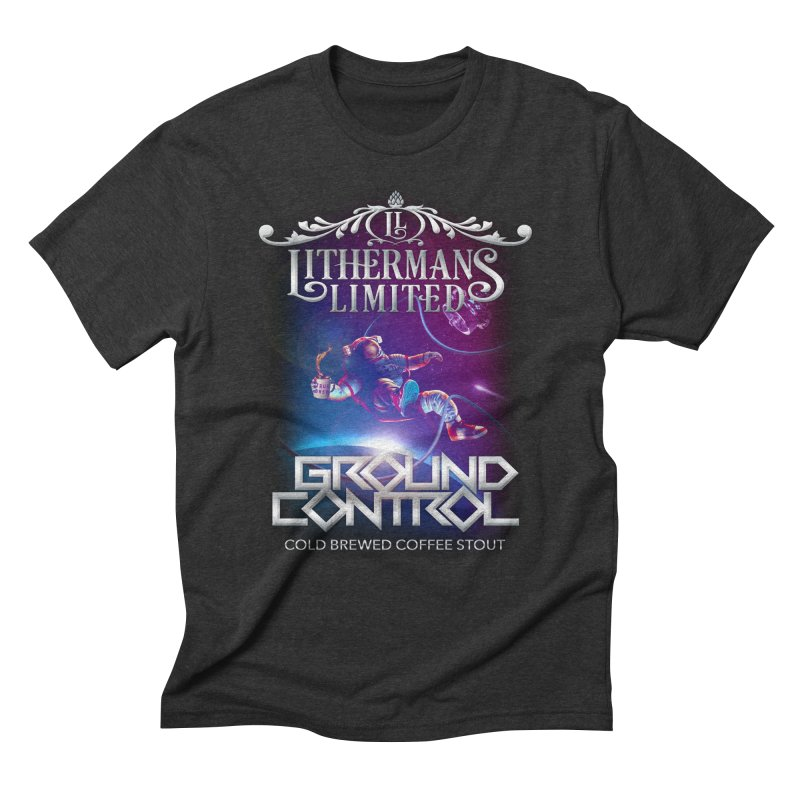 Ground Control Men's Triblend T-Shirt by Lithermans Limited Print Shop