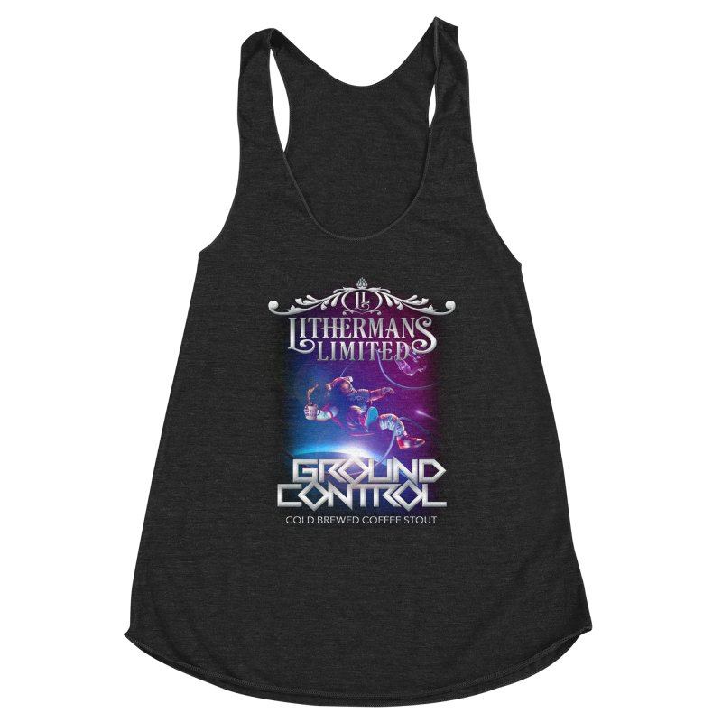 Ground Control Women's Racerback Triblend Tank by Lithermans Limited Print Shop