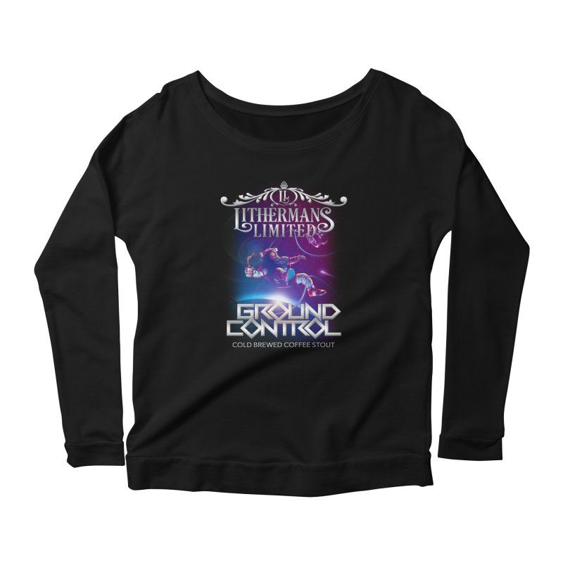 Ground Control Women's Scoop Neck Longsleeve T-Shirt by Lithermans Limited Print Shop