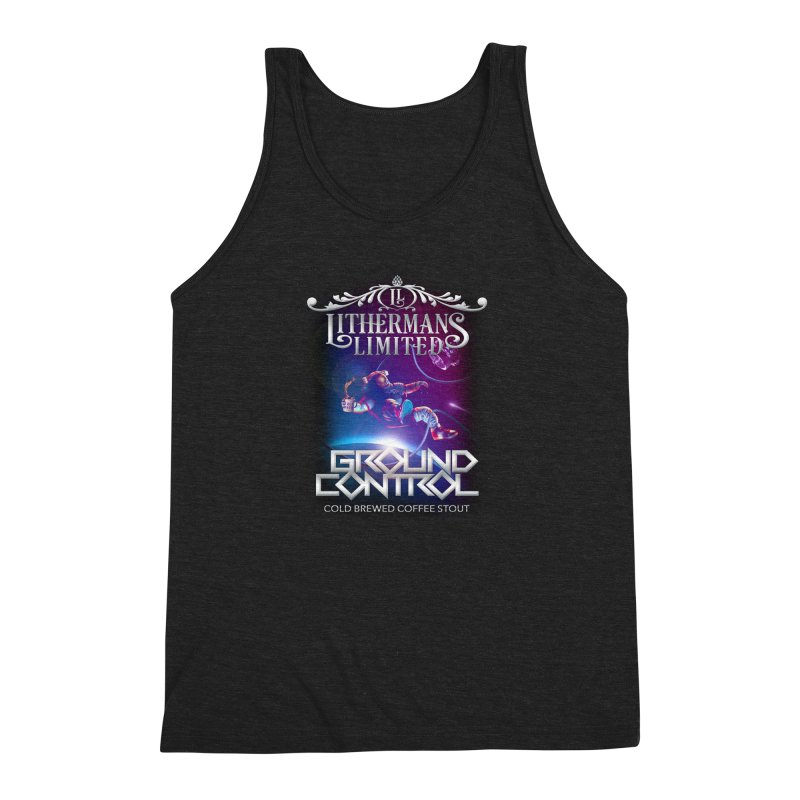 Ground Control Men's Triblend Tank by Lithermans Limited Print Shop