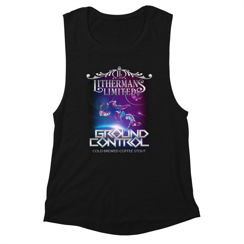 Ground Control Women's Muscle Tank by Lithermans Limited Print Shop