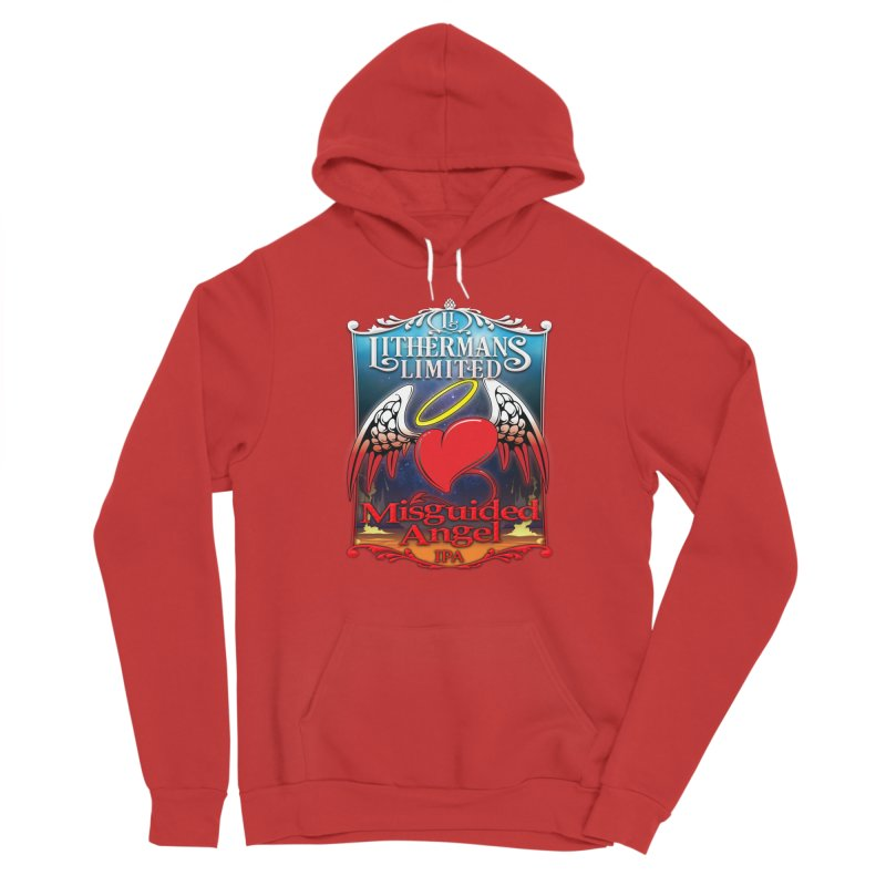 Misguided Angel Men's Pullover Hoody by Lithermans Limited Print Shop