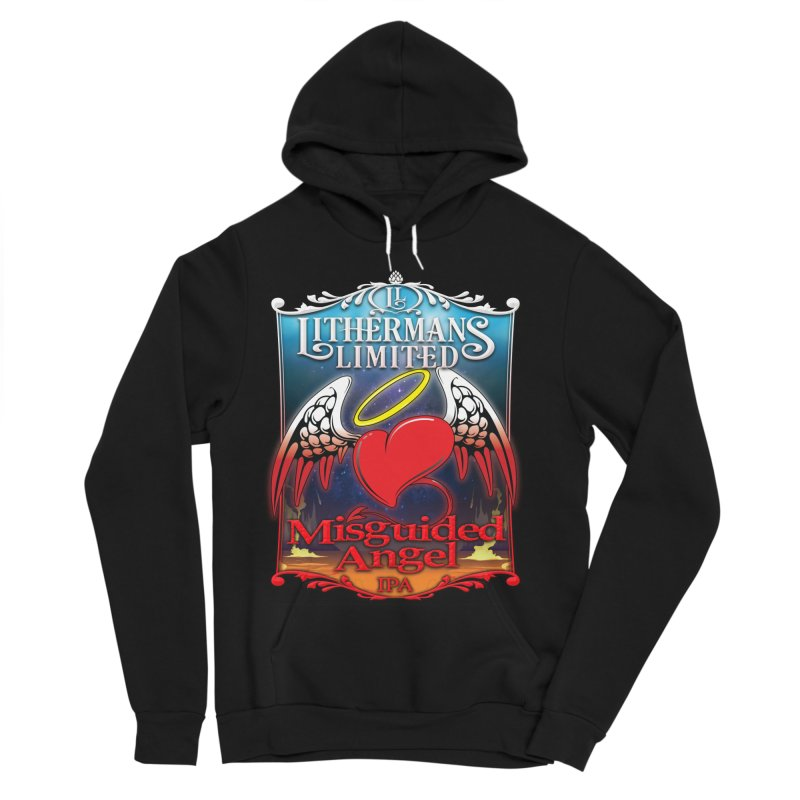 Misguided Angel Women's Sponge Fleece Pullover Hoody by Lithermans Limited Print Shop