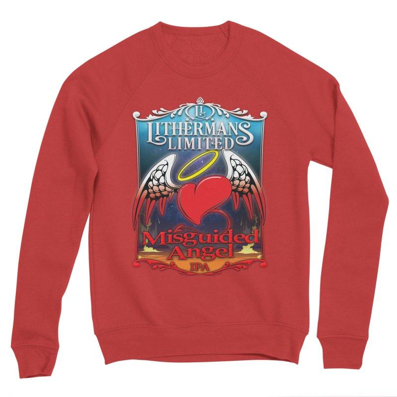 Misguided Angel Women's Sponge Fleece Sweatshirt by Lithermans Limited Print Shop