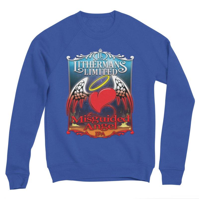 Misguided Angel Men's Sponge Fleece Sweatshirt by Lithermans Limited Print Shop