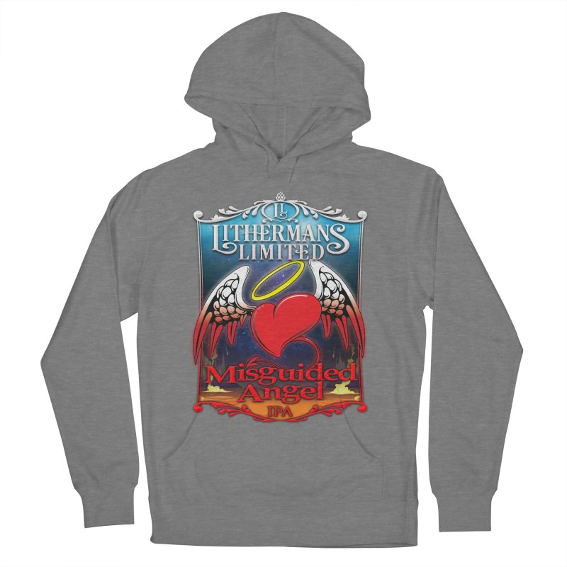 Misguided Angel Women's Pullover Hoody by Lithermans Limited Print Shop