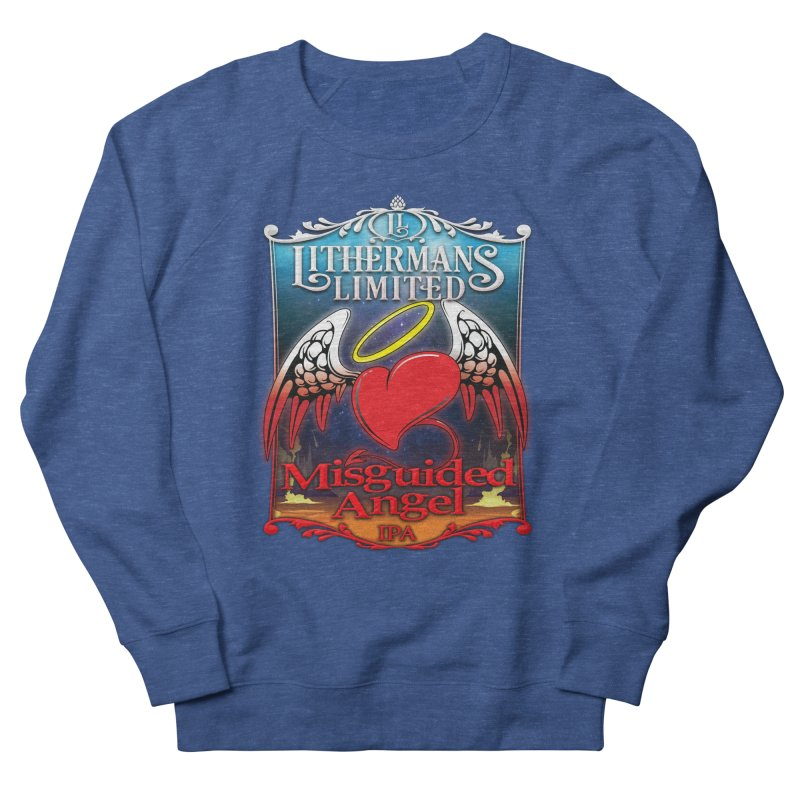Misguided Angel Men's Sweatshirt by Lithermans Limited Print Shop