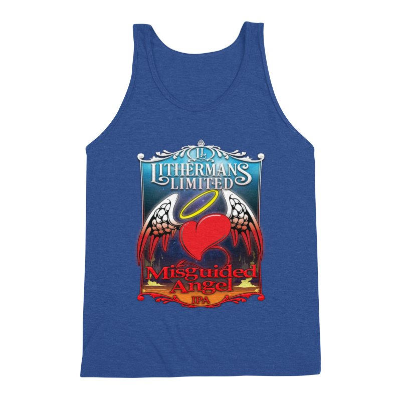 Misguided Angel Men's Tank by Lithermans Limited Print Shop