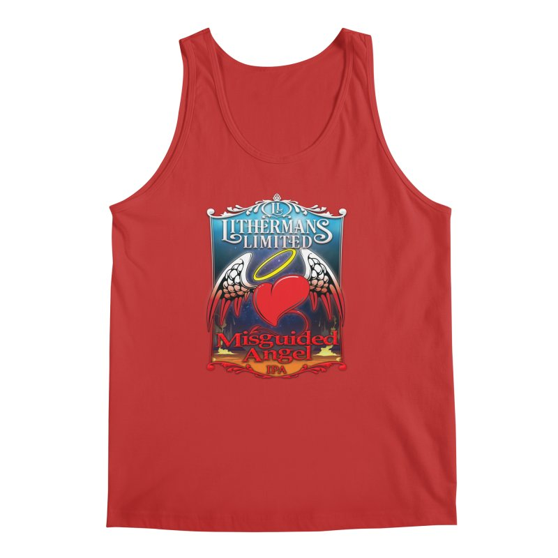 Misguided Angel Men's Regular Tank by Lithermans Limited Print Shop